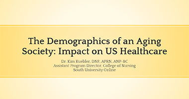 The Demographics of an Aging Society: Impact on US Healthcare